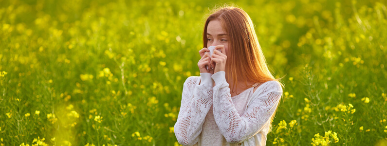 Dealing with your Hay Fever Symptoms